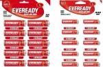 Eveready Combi 10 AA & 10 AAA CZN Batteries
