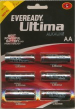 Eveready AA LR6/1.5V/1U