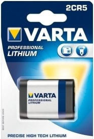 Varta 2CR5 1 6V Professional Lithium (Packaging Of 1 Blister With 1 Cell)