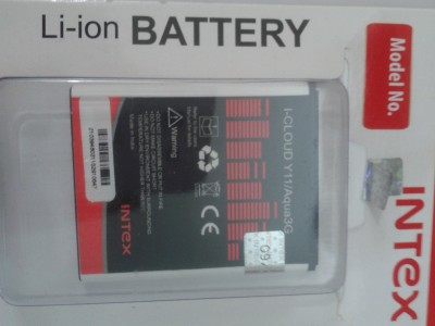 Intex-1400mAh-Battery-(For-I-Cloud-Y11/Aqua3G)