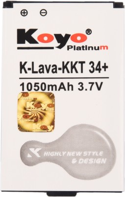 Koyo 1050mAh Battery (For Lava KKT 34 Plus)