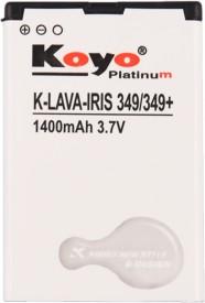 Koyo-1400mAh-Battery-(For-Lava-Iris-349+)