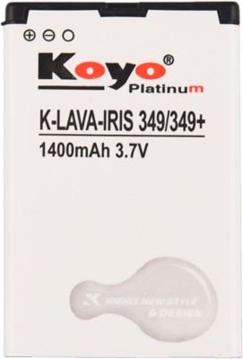 Koyo 1400mAh Battery (For Lava Iris 349+)