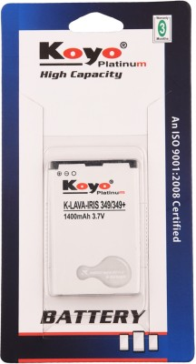 Koyo-1400mAh-Battery-(For-Lava-Iris-349+)
