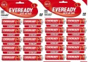 Eveready  Battery - Eveready CZN Battery Red Hd AA 1015 Battery (Pack Of 20) (Non Rechargeable) (RED)