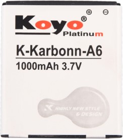 Koyo-1000mAh-Battery-(For-Karbonn-A6)