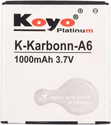 Koyo-1000mAh-Battery-(For-Karbonn-A6)