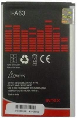 Intex A63 1500mAh Battery (for Micromax Canvas Fun & Lava Iris)