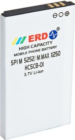 ERD 1050mAh Battery (For Micromax X250)