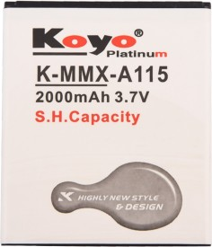 Koyo 2000mAh Battery (For Micromax A115)