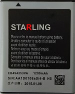 Starling For Samsung Galaxy Wave 578 EB494353VA Battery
