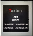 Taxton  Battery - For Micromax Ninja A89 Battery (Black, Silver)