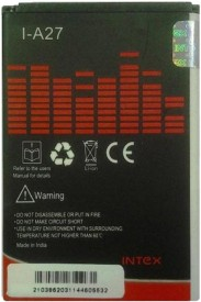 Intex A27 1500mAh Battery (for Micromax Bolt,Canvas Punk A45)