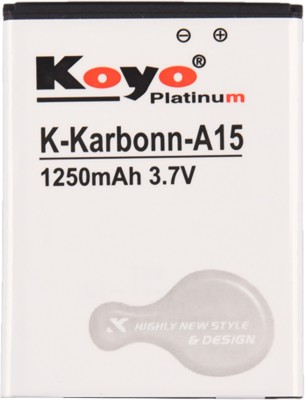 Koyo 1250mAh Battery (For Karbonn A15)