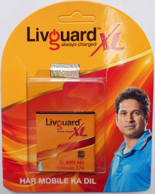 Livguard 1350mAh Battery (For Micromax A62 XL)