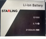 Starling For Xolo Q1000 Battery
