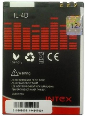 Intex BL4D 1000mAh Battery (for Nokia N97, E7, N8, E5 & Lava Spark)