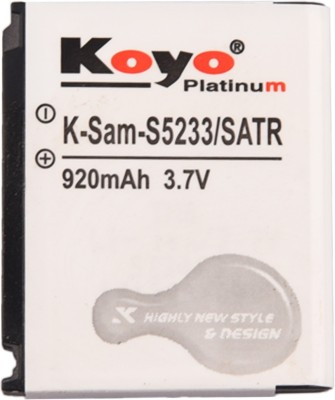 Koyo 920mAh Battery (For Samsung S5233)