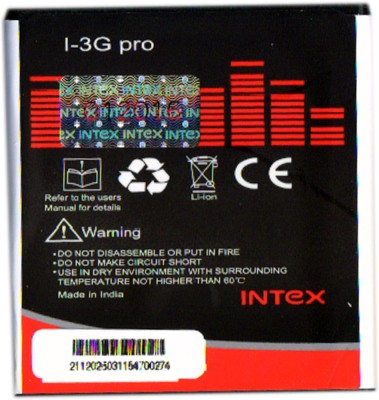 Intex 1400mAh Battery (For I-3G Pro)