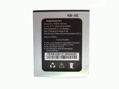 Karbonn A35 (with 1800 mAh) Mobile Battery