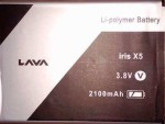 Lava Iris X5