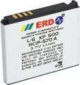 ERD Battery BT-114 Compatible Mobile For LG KP 500 - White