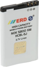 ERD 1000mAh Battery (For Nokia 5800XM/ Lumia 520/ C3/ X1/ X6/ 5230 XM/ Asha200/ Asha201/ Asha302)
