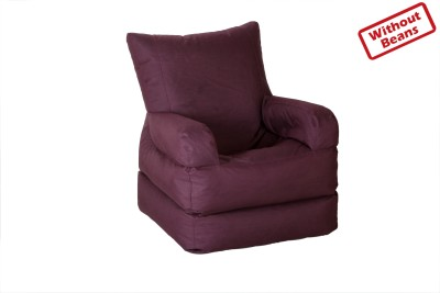 Comfy Bean Bags Large Lounger Bean Bag  Cover  Without Filling  available at Flipkart for Rs.5000