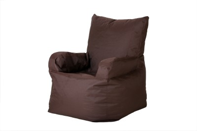 Cozy Bags NEBEXACHBRWN Bean Bag Chair Without Beans Brown Size   XXXL available at Flipkart for Rs.1299