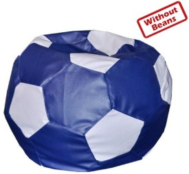 Fab Homez XXXL Football Teardrop Bean Bag  Cover (Without Filling)