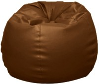 Oade Small Bean Bag  With Bean Filling (Brown)