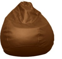 ABCD Small Bean Bag  With Bean Filling (Brown)