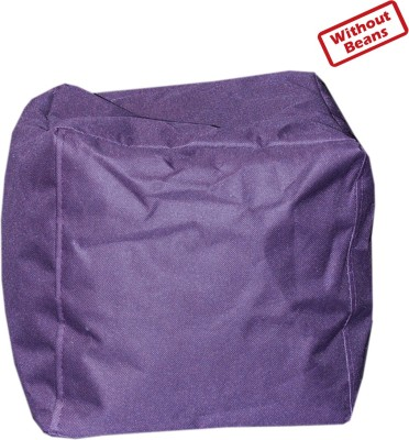 Comfy Bean Bags Large Bean Bag Footstool  Cover  Without Filling  available at Flipkart for Rs.4500