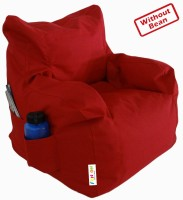 Fun ON STR117A Red Bean Bag Cover - Without Beans: Bean Bag
