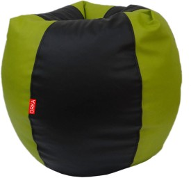 ORKA XL Bean Bag XL (Filled With Beans) Bean Bag  With Bean Filling