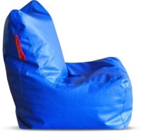 Mr.Lazy XXL Bean Bag Chair  With Bean Filling (Blue)