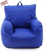 Bean Bag World blue relax sofa