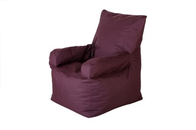 Cozy Bags NEBEXARMCHWN Bean Bag Chair Without Beans Maroon Size   XXXL available at Flipkart for Rs.1299