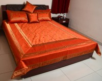 Sukriti Silk, Cotton King Bed Cover