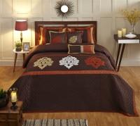 Stoa Paris Silk Double Bed Cover Multicolor - BCVEARZFWW8EPBGA