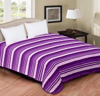 Home Originals Polycotton Double Bed Cover Purple