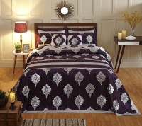 Stoa Paris Silk Double Bed Cover Multicolor