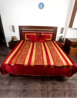 Jodhaa Velvet, Silk Double Bed Cover