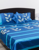 Kalasansar Polyester, Cotton Double Bed Cover
