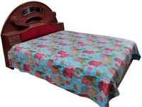 Indigocart Cotton Double Bed Cover