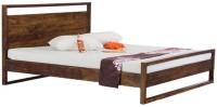 Smart Choice Furniture Smart Choice Rosewood (Sheesham) JIBD05 Matte Finish Solid Wood King Size Bed Solid Wood King Bed (Finish Color -  Walnut)
