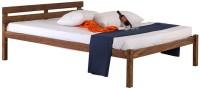 Smart Choice Furniture Smart Choice Rosewood (Sheesham) JIBD10 Matte Finish Solid Wood King Size Bed Solid Wood King Bed (Finish Color -  Rich Stone (Natural Matte))