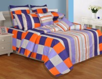 Salona Bichona Elegant Cotton Bedding Set Purple