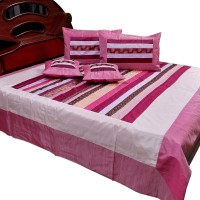 Little India Silk Double Bed Cover