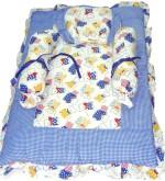 Baby Baics Baby Baics Cartoon Print Cotton Bedding Set